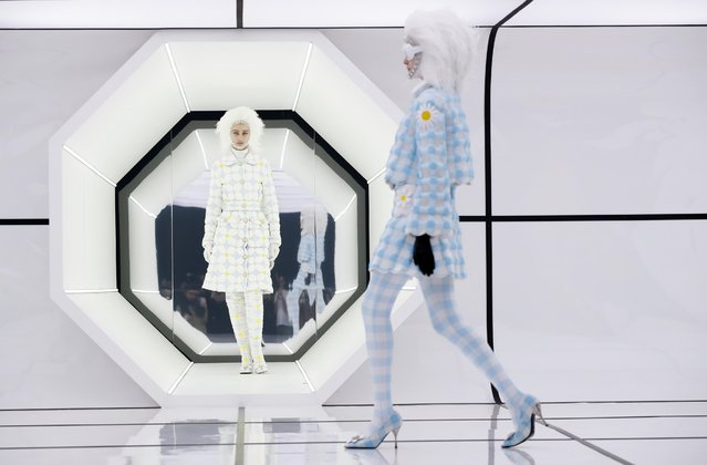 Models present creations from the Moncler Autumn/Winter 2020 collection during Milan Fashion Week in Milan, Italy on February 19, 2020. (Photo by Alessandro Garofalo/Reuters)