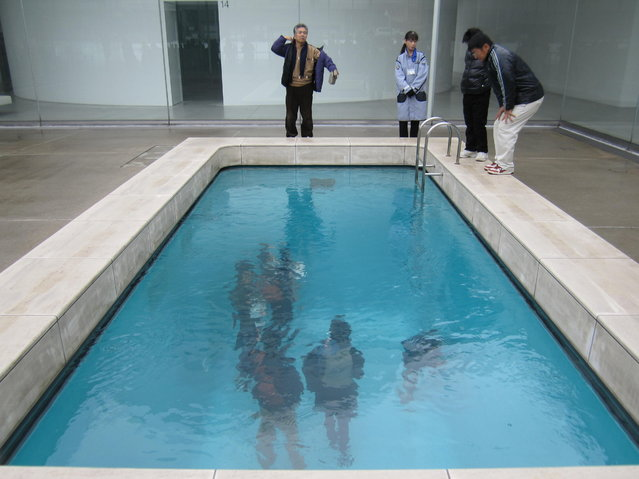 Swimming Pool Art Installation by Leandro Erlich