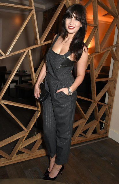 Daisy Lowe attends the launch of The Great Eight Guacamoles, London's first Guacamoles and Tequila Bar, at Cantina Laredo on October 11, 2017 in London, England. (Photo by David M. Benett/Dave Benett/Getty Images)