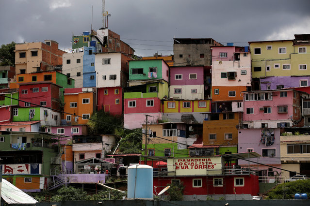 A general view of the neighbourhood, 23 de Enero, is seen in Caracas, Venezuela September 9, 2016. (Photo by Henry Romero/Reuters)