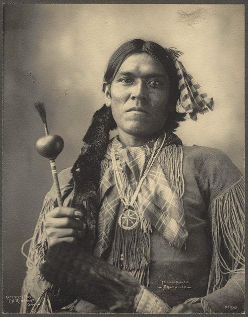 Yellow Magpie, Arapahoe, 1899. (Photo by Frank A. Rinehart)
