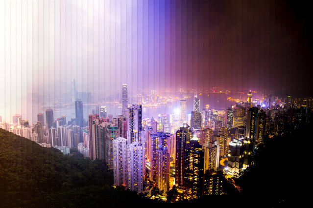 Hong Kong: 57 photographs, 1 hour 40 minutes. (Photo by Daniel Marker-Moors/Caters News)