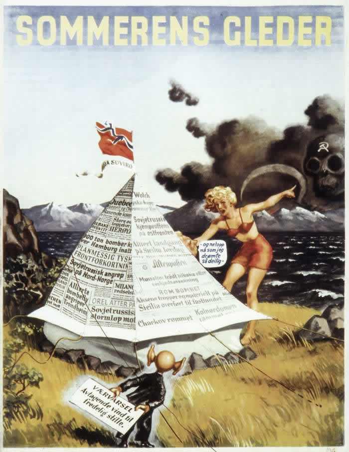 Large Set of Propagandistic Anti-Soviet Posters (1920 – 1980)