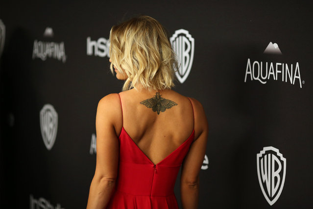 Actress Kaley Cuoco attends the 17th Annual Instyle and Warner Bros. Pictures Golden Globes After Party in Beverly Hills, California January 10, 2016. (Photo by David McNew/Reuters)