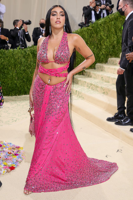 Madonna's daughter Lourdes Leon attends The 2021 Met Gala Celebrating In America: A Lexicon Of Fashion at Metropolitan Museum of Art on September 13, 2021 in New York City. (Photo by Theo Wargo/Getty Images)