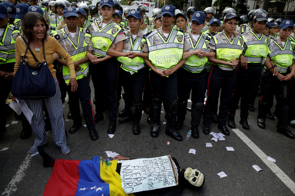 Thousands March for Change in Venezuela