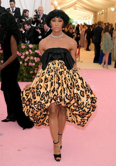 Mj Rodriguez attends The 2019 Met Gala Celebrating Camp: Notes on Fashion at Metropolitan Museum of Art on May 06, 2019 in New York City. (Photo by Neilson Barnard/Getty Images)