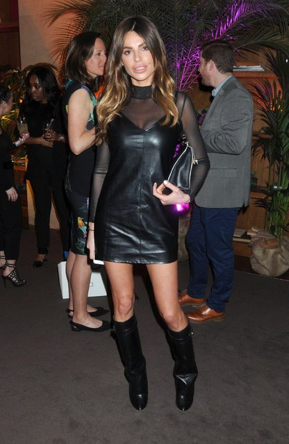 Misse Beqiri attends Twisted Halo launch party at Bluebird in Chelsea on March 29, 2017 in London, England. (Photo by Stephen Coke/Rex Features/Shutterstock)