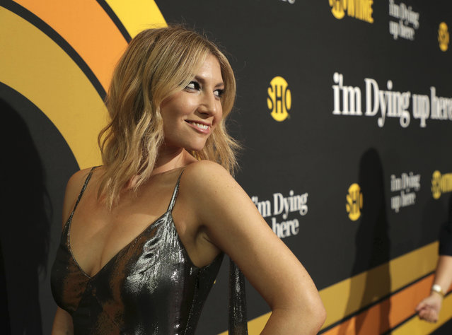 """Ari Graynor is pictured at Showtime's """"I'm Dying Up Here"""" premiere at the Directors Guild of America Theater on Wednesday, May 31, 2017, in Los Angeles. (Photo by Eric Charbonneau/Invision for Showtime/AP Images)"""