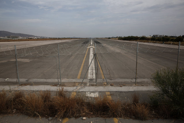 A runway is seen at the former Athens International airport of Hellenikon June 17, 2014.  (Photo by Yorgos Karahalis/Reuters)