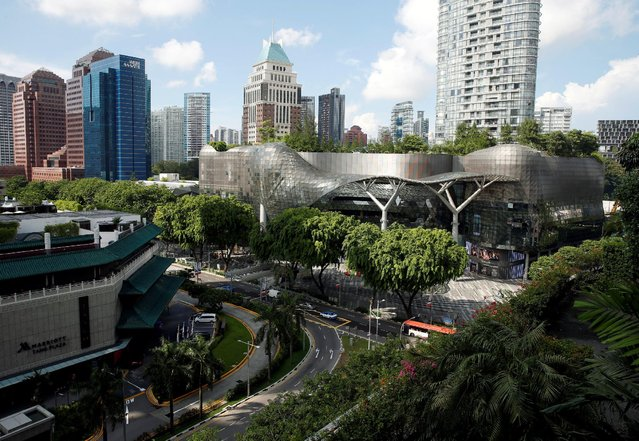A general view of shopping malls in the shopping district of Orchard Road in Singapore June 2, 2016. (Photo by Edgar Su/Reuters)