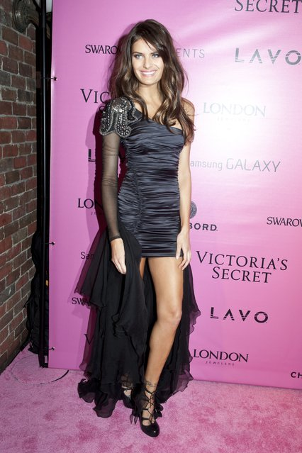 Model Isabeli Fontana attends the after party for the 2012 Victoria's Secret Fashion Show at Lavo NYC on November 7, 2012 in New York City. (Photo by Jim Spellman/WireImage)