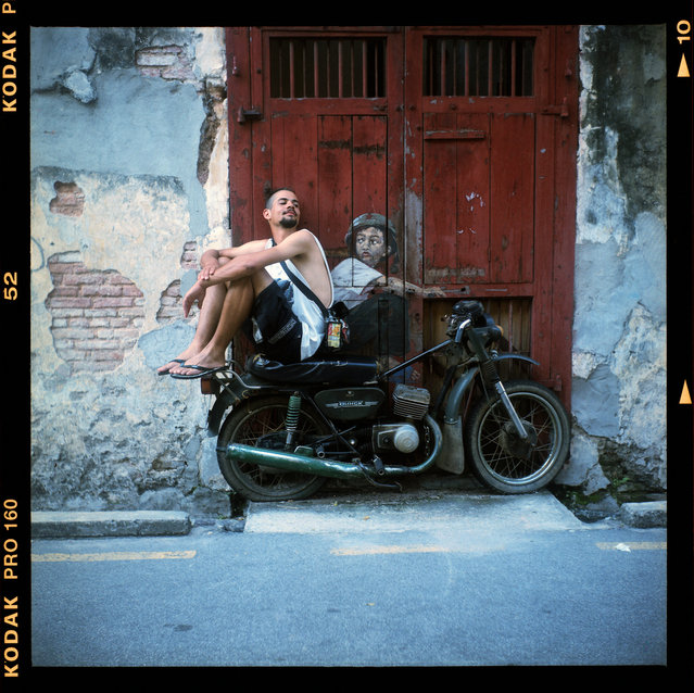 Seagull 4 TLR. George Town, Penang, Malaysia. (Photo by Amir Ganu)
