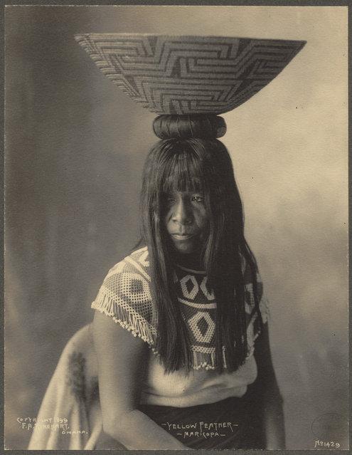 Yellow Feather, Maricopa, 1899. (Photo by Frank A. Rinehart)