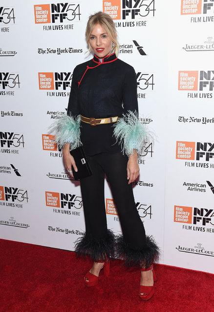 """Sienna Miller attends the Closing Night Screening of """"The Lost City Of Z"""" for the 54th New York Film Festival at Alice Tully Hall, Lincoln Center on October 15, 2016 in New York City. (Photo by Jamie McCarthy/Getty Images)"""