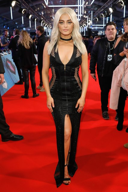 Host Bebe Rexha attends the MTV Europe Music Awards 2016 on November 6, 2016 in Rotterdam, Netherlands. (Photo by Andreas Rentz/Getty Images for MTV)