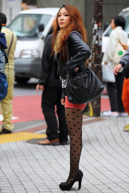 """Spotted"". Shibuya, 2012. (Asian (Street) Impressions)"