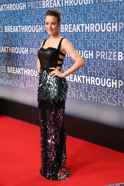 Rachel McAdams attends the 7th Annual Breakthrough Prize Ceremony at NASA Ames Research Center on November 4, 2018 in Mountain View, California. (Photo by Taylor Hill/Getty Images)