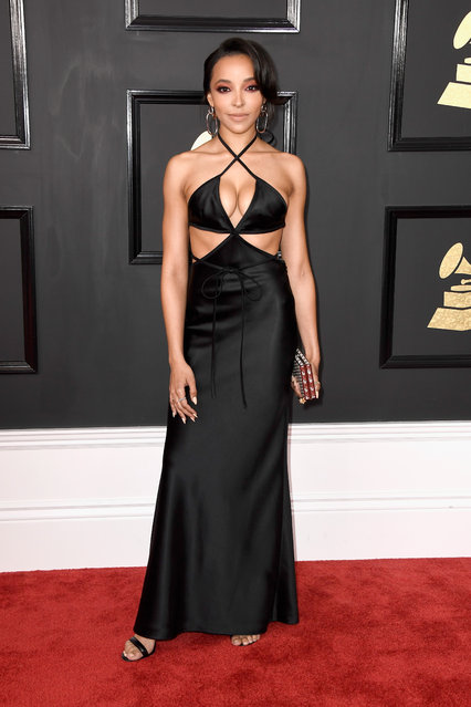 Singer-songwriter Tinashe attends The 59th GRAMMY Awards at STAPLES Center on February 12, 2017 in Los Angeles, California. (Photo by Frazer Harrison/Getty Images)