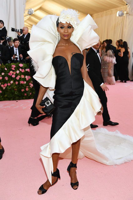 Dominique Jackson attends The 2019 Met Gala Celebrating Camp: Notes on Fashion at Metropolitan Museum of Art on May 06, 2019 in New York City. (Photo by Dimitrios Kambouris/Getty Images for The Met Museum/Vogue)