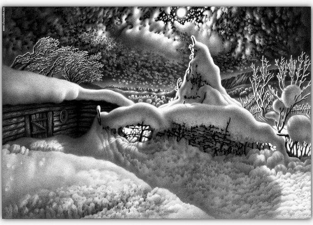 Pencil Drawings By Guram Dolenjashvili
