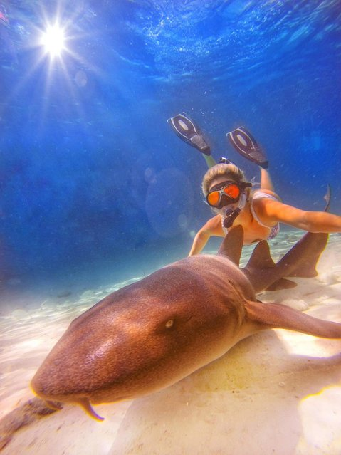 Amelia loves all types of photography, mostly underwater or anywhere on the water. (Photo by Amelia Klonaris/Mediadrumworld)