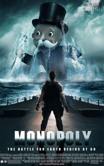 Battleship movie fake posters