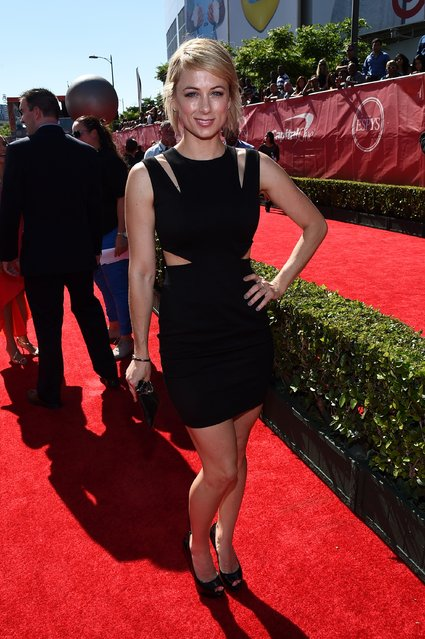 Comedian Iliza Shlesinger attends The 2014 ESPYS at Nokia Theatre L.A. Live on July 16, 2014 in Los Angeles, California. (Photo by Michael Buckner/Getty Images For ESPYS)