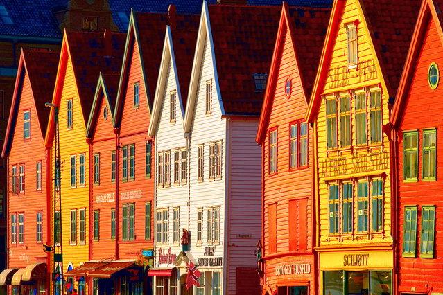 Bryggen in Bregen, Norway. (Photo by Getty Images)