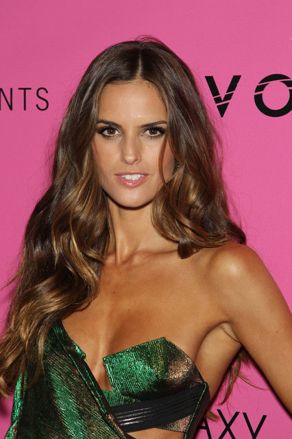 Model Izabel Goulart attends the after party for the 2012 Victoria's Secret Fashion Show at Lavo NYC on November 7, 2012 in New York City. (Photo by Jim Spellman/WireImage)