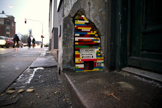 """""""The Kids Want the City Back 2"""". Copenhagen street art and urban infill. With The Felix. (Photo by Colville-Andersen)"""