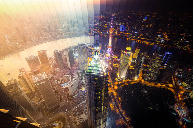 Shanghai: 65 photographs, 1 hour 53 minutes. (Photo by Daniel Marker-Moors/Caters News)