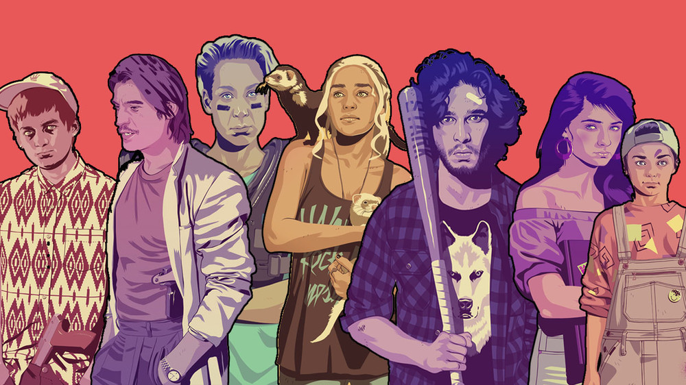 Game Of Thrones 90′s  by Mike Wrobel's