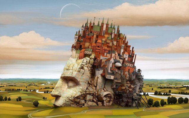 Surreal Paintings By Jacek Yerka