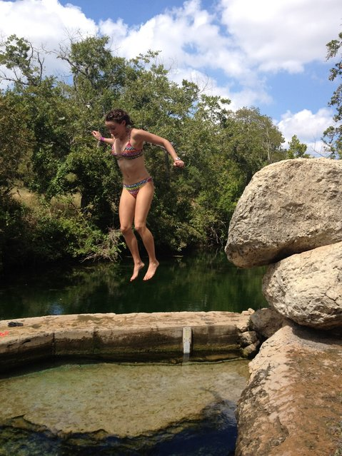 Dive The Deadly Jacob's Well In Texas