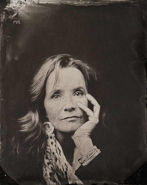 Lea Thompson poses for a tintype (wet collodion) portrait at The Collective and Gibson Lounge Powered by CEG, during the 2014 Sundance Film Festival in Park City, Utah. (Photo by Victoria Will/AP Photo/Invision)
