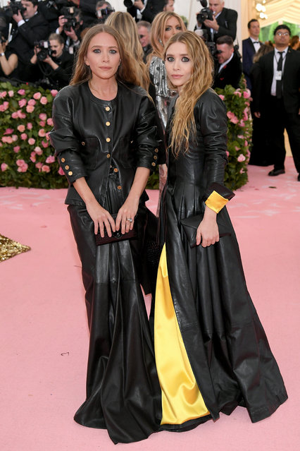 Mary Kate Olsen and Ashley Olsen attend The 2019 Met Gala Celebrating Camp: Notes on Fashion at Metropolitan Museum of Art on May 06, 2019 in New York City. (Photo by Neilson Barnard/Getty Images)