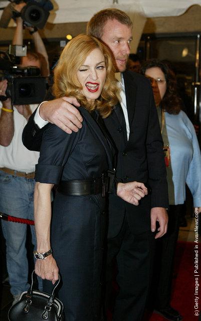 Winking Singer Madonna