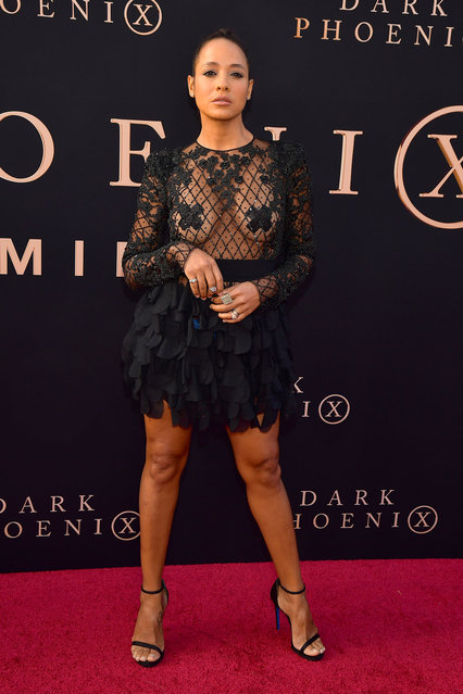 "Dania Ramirez attends the premiere of 20th Century Fox's ""Dark Phoenix"" at TCL Chinese Theatre on June 04, 2019 in Hollywood, California. (Photo by Matt Winkelmeyer/Getty Images)"