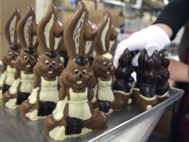 The secret of the chocolates is of course the manufacturing and processing. Tradition, freshness, handmade and imagination are the top priority. Belgian original recipes from Antwerp were at the beginning of the basis for production of chocolate. (Photo by Sean Gallup/Getty Images)