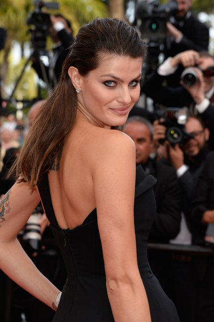 "Model Isabeli Fontana attends ""The Unknown Girl (La Fille Inconnue)"" Premiere during the 69th annual Cannes Film Festival at the Palais des Festivals on May 18, 2016 in Cannes, France. (Photo by Pascal Le Segretain/Getty Images)"