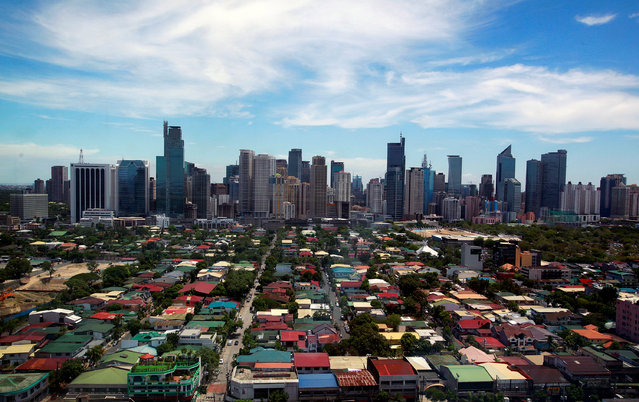 A general view of the skyline from the Makati City Hall in Manila, Philippines, May 11, 2010. (Photo by Nicky Loh/Reuters)