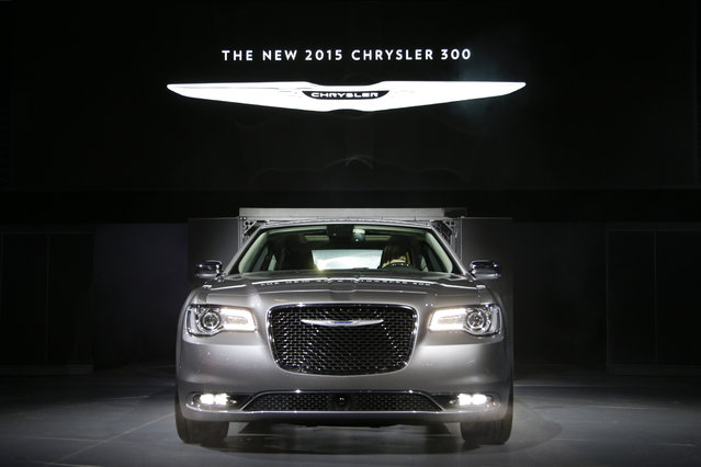 The 2015 Chrysler 300C sedan is unveiled at the Los Angeles Auto Show Wednesday, November 19, 2014, in Los Angeles. (Photo by Jae C. Hong/AP Photo)