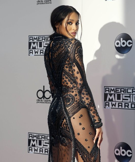 Singer Ciara arrives at the 2015 American Music Awards in Los Angeles, California November 22, 2015. (Photo by David McNew/Reuters)