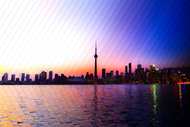 Toronto: 40 photographs, 1 hour 53 minutes. (Photo by Daniel Marker-Moors/Caters News)
