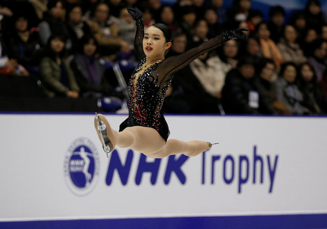 Figure Skating, ISU Grand Prix of Figure Skating NHK Trophy 2016/2017, Ladies Free Program, Sapporo, Japan on November 26, 2016. Karen Chen of the U.S. competes. (Photo by Issei Kato/Reuters)