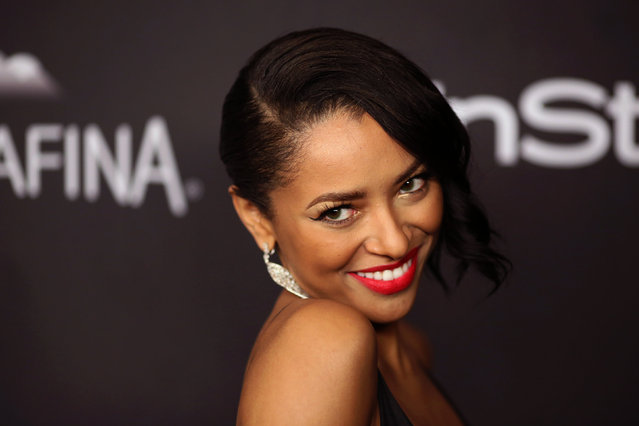 Actress Kat Graham attends the 17th Annual Instyle and Warner Bros. Pictures Golden Globes After Party in Beverly Hills, California January 10, 2016. (Photo by David McNew/Reuters)