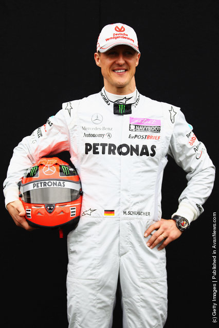 Michael Schumacher of Germany and Mercedes GP