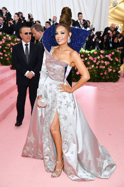 Thalia attends The 2019 Met Gala Celebrating Camp: Notes on Fashion at Metropolitan Museum of Art on May 06, 2019 in New York City. (Photo by Dimitrios Kambouris/Getty Images for The Met Museum/Vogue)