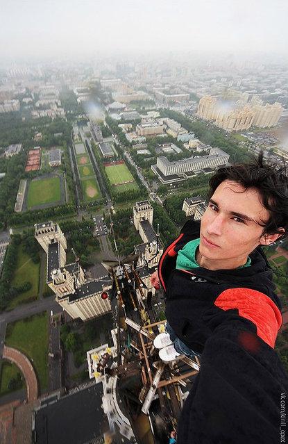 Russian Climber Kirill Oreshkin